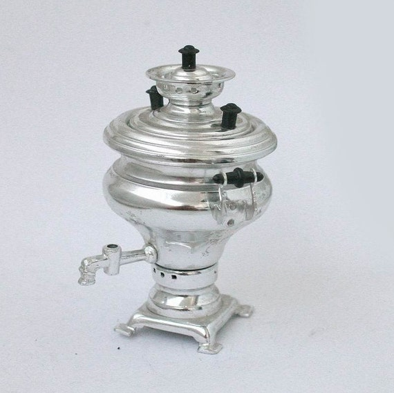 Miniature Russian Samovar Tea Pot 1970s From Russia