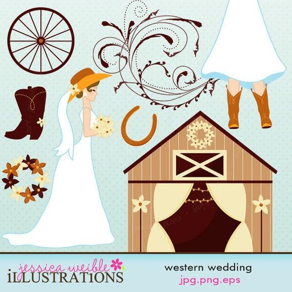 Similiar Country Western Wedding Clip Art Keywords