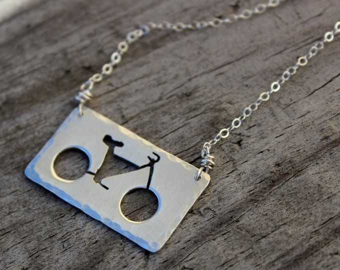 Ride a Bike Necklace