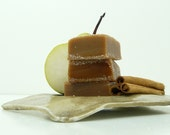 Caramels Cinnamon Pear - handmade candy - fall harvest thanksgiving gift - fall wedding favor