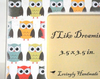 Owls Picture Frame