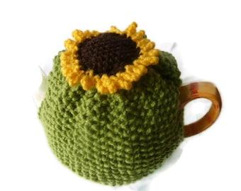 tea cozy  cosie cosy sunflower