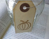 Harvest Pumpkin Tags