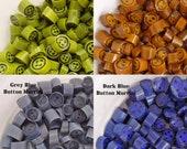 Button murrini mix pack CoE 104 glass