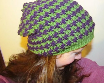 Pattern 61 Bus Stop Hat (Permission to Sell Finished Item)