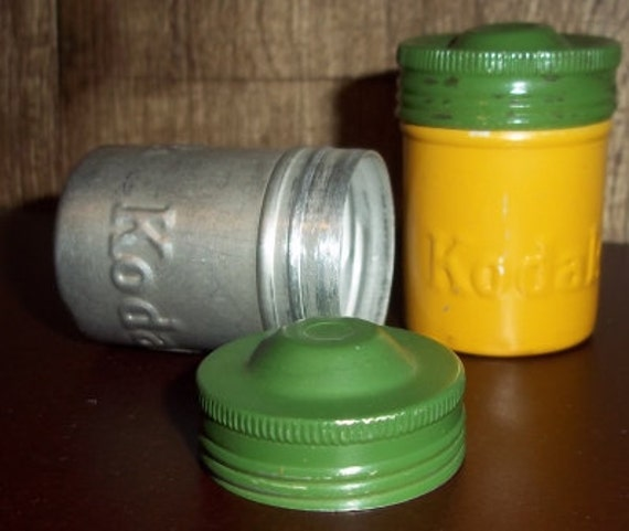 Kodak Film Canisters/Tins