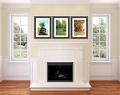 Set Of Three Fine Art Photography Prints Your choice custom print home decor art Unique Fathers Day Gift For Him FREE SHIPPING