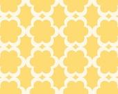 Taza- Tarika in Yellow  by Dena Designs - Fabric -1/2 yard Cotton Quilt Fabric