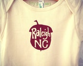 Raleigh Acorn Infant Short Sleeve One Piece. Organic Cotton. 12-18 months.