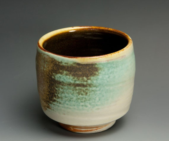 Sale - Handcrafted soda fired tea cup/bowl- Japanese yunomi-539