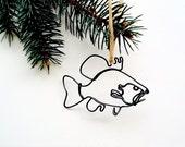 Sun Fish Ornament