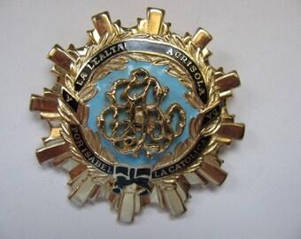 Coro Order of Isabella Heraldic Brooch