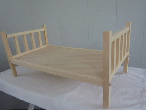 how to make a 18 inch doll bed