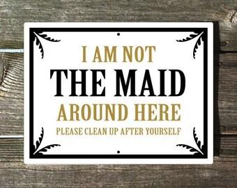Maid Sign