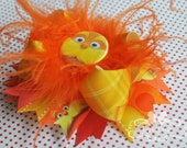 The Lorax Inspired OVER The TOP Boutique Hair Bow Headband