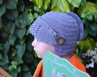 Crochet pattern : Knight helmet in 3 sizes