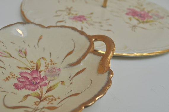 Paris Appartment French Cake Stand with Matching Dish