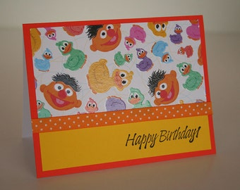 Birthday Card-  Glossy Rubber Duckies