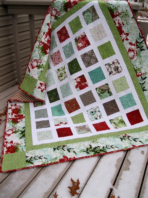 Simply BLITZEN 54x60 Christmas quilt