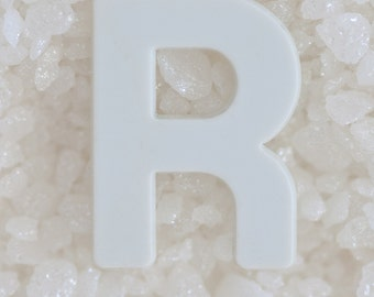 Alphabet Photo Art - Alphabet Photography, Letters Print, The Alphabet Art, Letter R Art Photograph, Beach House Decor, Neutral Art