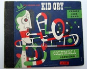 Jim Flora - Art Cover - Kid Ory and His Creole Jazz Band (1947)