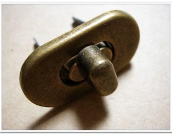 3.5cm twist-locks Purse Flip Locks puse locks Anti bronze purse making supplies