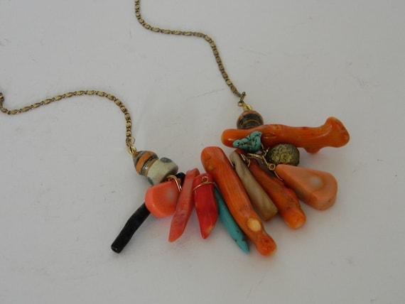Amulet Coral mini  necklace/pendant