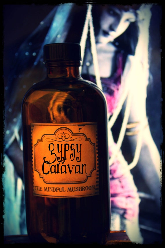 GYPSY CARAVAN-Hand Blended Artisan Oil-1ML Sample Vial- (primary notes: ginger, nutmeg, bergamot, amber, allspice, sandalwood)