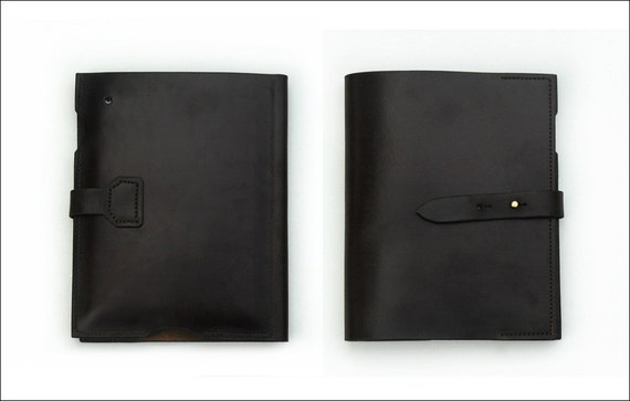 Leather iPad Case by DE BRUIR // Fold Design // For Business or Casual use // Premium Quality //