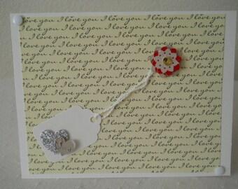 Card--Love, Love, Love
