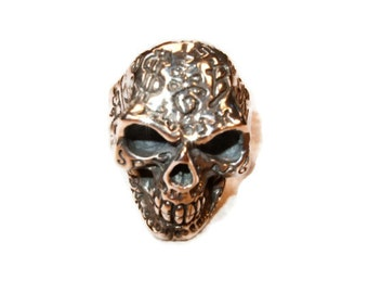 Silver Skull Ring
