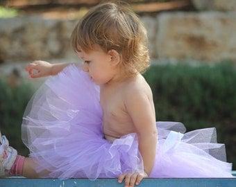 Violet tutu skirt in vintage style petit ballerine - photo prop