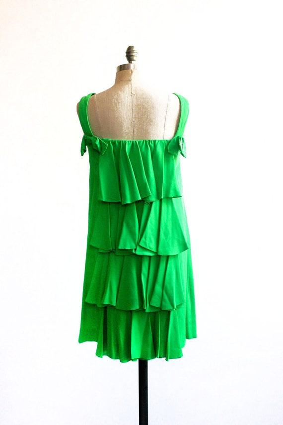 1960s a-go-go Waterfall Dress w/ Bows