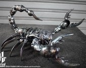 Metal Sculpture - Metal Poison Scorpion (small item)