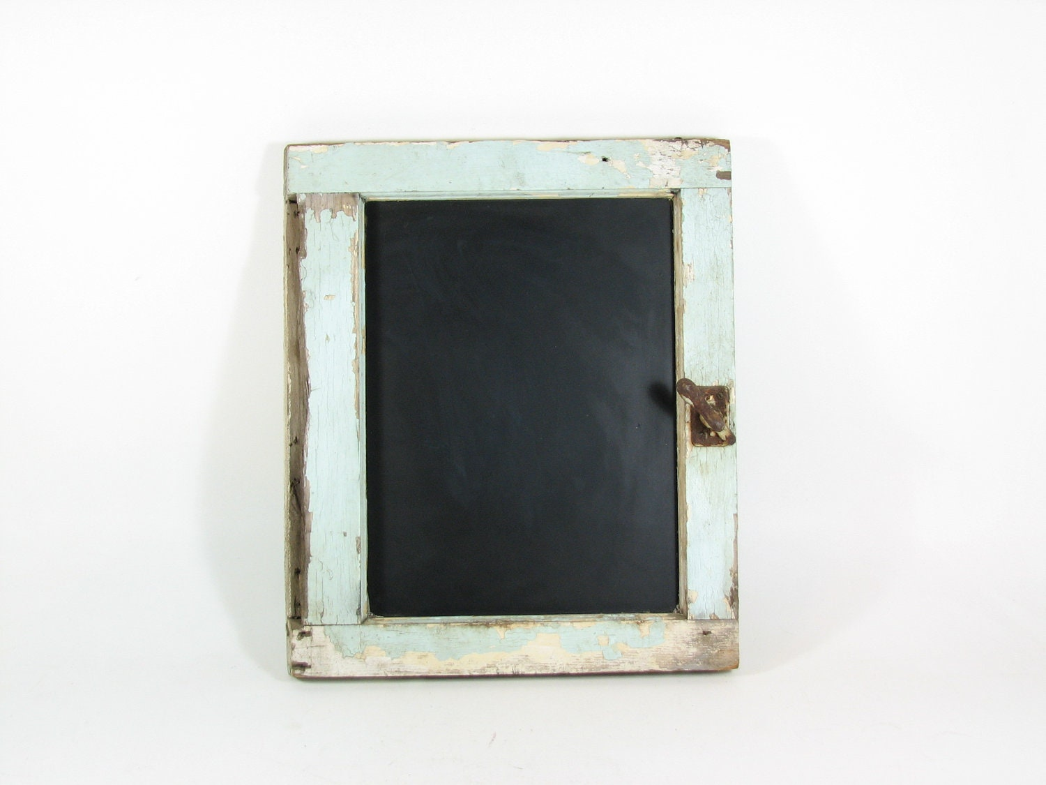 Chalkboard From Repurposed Vintage Cabinet Door By Bridgewoodplace