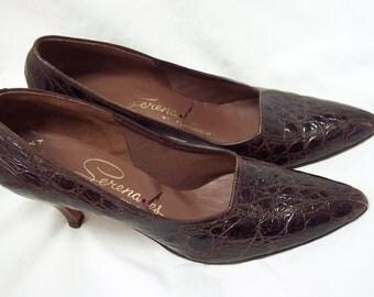 Lady Shoes Ladies High Heel Serenades by Florsheim Vintage 8 2A