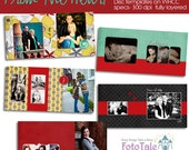 From the Heart CD Case Collection - custom photo templates for photographers on WHCC specs