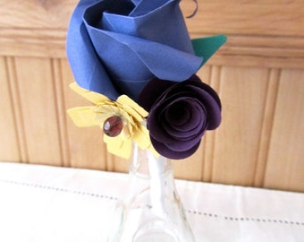 Grooms Boutonniere: Made to Order