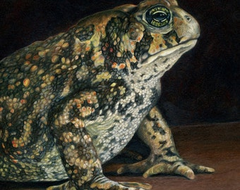 """Waiting for His Kiss - 5x7"""" Giclee Print Matted to 8x10"""""""