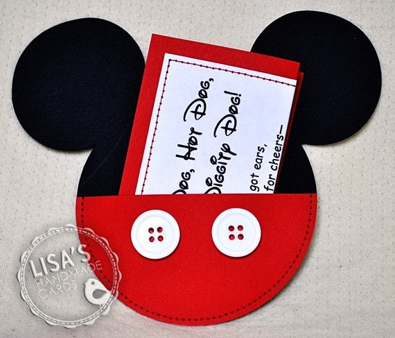 reserved for maria custom mickey mouse by lisashandmadecards, Birthday invitations