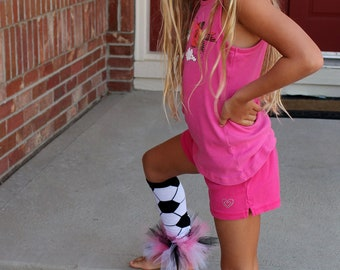 Soccer Leg Warmers for the Girly Girl