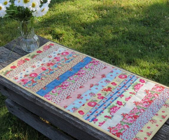 Tutti Frutti Quilted Table Runner