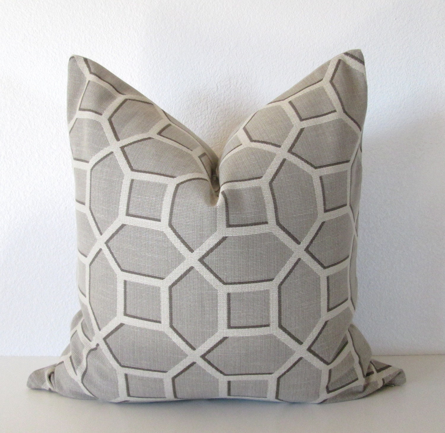 Small Gray Decorative Pillow : CraftLaunch Site Inactive