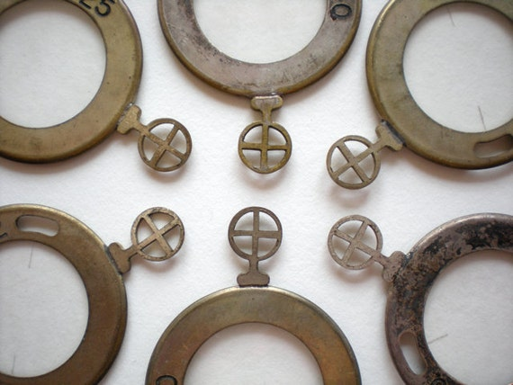 1pc Monocle Antique Optical Lens Victorian