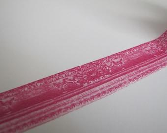 Washi Tape-Masking Tape-Single Roll-Pink Frame Tape