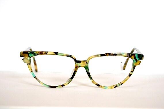Vintage cat eye rare eyeglasses On Line Germany 1960s