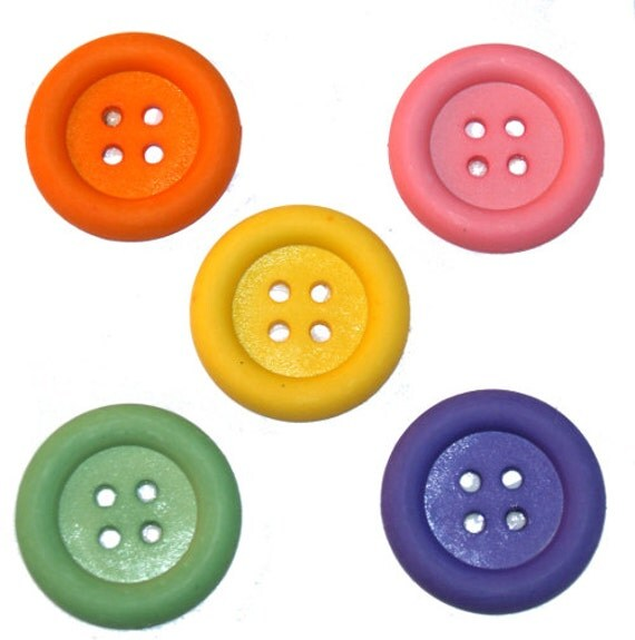 Big Ol' Buttons Jesse James Embellishments Pastel
