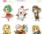 Final Fantasy 6 Magnet set of 6