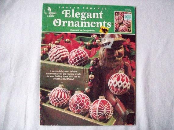 Thread Crochet Patterns Elegant Ornaments Book by ...