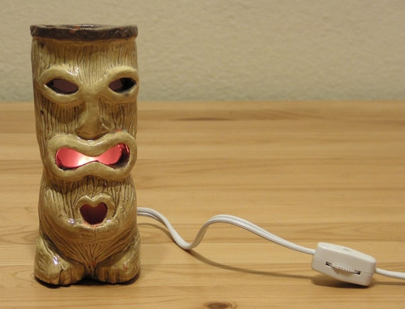 Peanut  Jr. Tiki Mug Night Light / Lamp 2